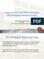 Lecture 1 the Philippine Electrical Code
