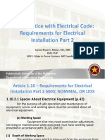 Lecture 4 Requirements for Electrical Installation 2
