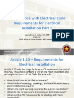 Lecture 3 Requirements for Electrical Installation 1
