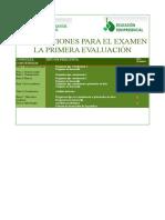 3 Orientaciones Para Examen