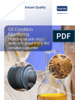 Oil Condition Monitoring Brochure