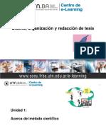 Unidad 1 Modulo i -Diseno-Organizacion y Redaccion de Tesis- -4!7!2012