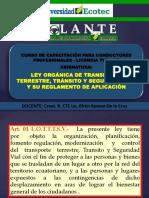 Ley de Tránsito 2a - 4TA PROM.(1)