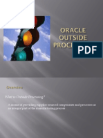 Oracle Osp Process