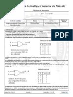 Práctica 2 Compuertas Lógicas y Tablas de Verdad