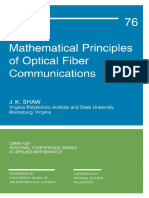 (CBMS-NSF regional conference series in applied mathematics 76) J. K. Shaw-Mathematical principles of optical fiber communications-Society for Industrial and Applied Mathematics (2004).pdf