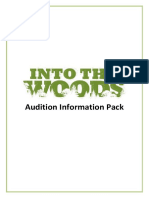 WAT Into the Woods Audition Pack