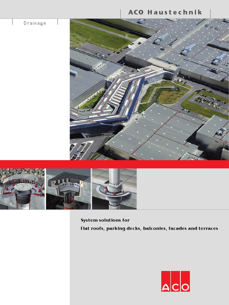 Aco Roof Drainage Systems Drainage Roof