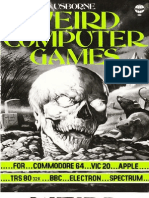 Usborne 1984 - Weird Computer Games for Commodore 64, VIC20, Apple, TRS80-32k, BBC and Electron, Spectrum