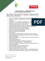 Anexo II - Documentação (Societária, Integração, Sstma, Mensal)