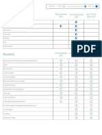 Visio Template Chart