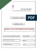 Manejo y Uso de Instrumentos Secundarios