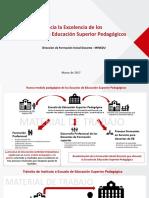 Hacia La Excelencia de Los Institutos REGLAMENTO PEDAGOGICOS 2017