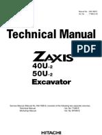 ZX50U-2 TEKN-¦K MAN. T1M9-E-00(ZX40U-2,50U-2)