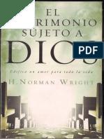 H. Norman Wrigth – El Matrimonio Sujeto a Dios - Ondas del Reino.pdf