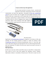 Introduction to Fiber Optic Sensors and Their Types With Applications