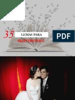 35 LEMAS PARA FAMILIAS FELICES - DECISION