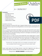 Quidos Technical Bulletin - 26/06/2017