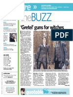 """Gemma Arterton interivew (""""Hansel & Gretel"""")"""