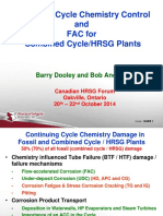 HRSG-07 Update on Cycle Chemistry Control and FAC - Dooley