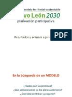 Nuevo Leon 2030 Informe de Result a Dos Mayo - Parte 1
