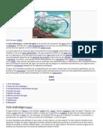 Ciclo hidrológico- teoria