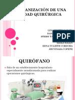Organización de Una Unidad Quirúrgica