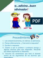 Lectura entretenida  de Adivinanzas.pptx