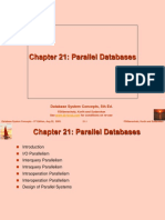 21-Parallel Database- Silberscatz 5th Ed