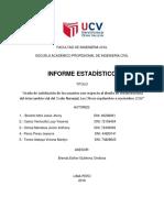 Informe Estadistico