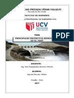 INFORME Proyectos Hidráulicos en El Perú