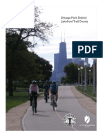 Chicago Park District Lakefront Trail Counts