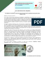 El Régimen Revienta El Acto de Presentación de La Coalición CPDS-UCD (1)