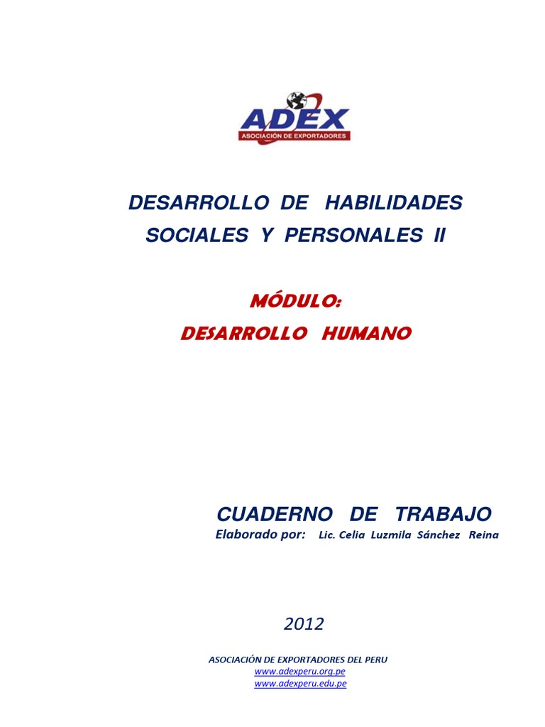 Adex Cuaderno Desarrollo de Habilidades Personales Sociales_ii