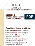 Sect1 Types&Components of Comp System