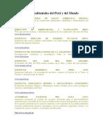 Instituciones Ambientales Del Perú