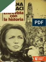 Entrevista Con La Historia - Oriana Fallaci