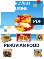 Peruvian Food-cuisine and Meals From Usa