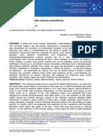 Marchesini Stival (2016). a Judicialização Da Saúde - Breves Comentários