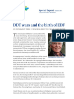 DDT wars and the birth of EDF