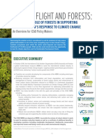 Linking Flight and Forests