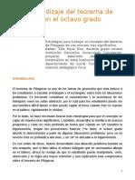 El aprendizaje del teorema de Pitagoras en el octavo grado.pdf