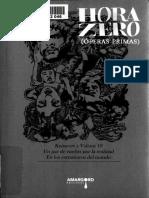 Hora Zero. Operas Primas (Rodolfo Ybarra y Zachary de los Dolores, Eds.)