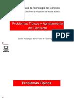 8-Problemas Típicos y Agrietamiento Del Concreto