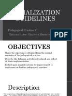 Final Socialization Guidelines Practica Vi