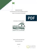 Intercambio de SPG en Ecuador