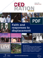 Faith and responses to displacement