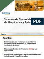 Curso Sistemas Control Guiado Maquinaria Pesada Aplicaciones Tecnologia Nivelacion Gcs Optimizacion Movimiento Tierras