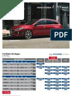 Hyundai i30 Wagon Listino
