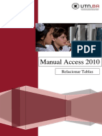 3 UTN FRBA Manual Access 2010 Relacionar Tablas